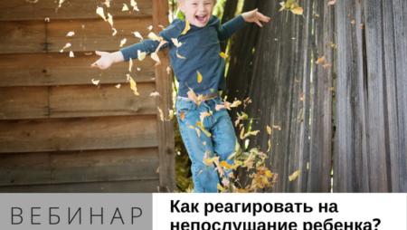 как реагировать на непослушание ребенка
