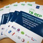 Брошюра «Достижения по внедрению моделей лечения ТБ, ориентированных на потребности человека: успехи организаций гражданского общества в рамках проекта TB-REP (2016-2018 гг.)»