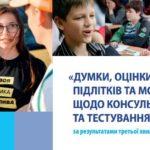 «Мысли, оценки и видение подростков и молодежи по консультированию и тестированию на ВИЧ» по результатам третьей волны онлайн-опроса (2018), на украинском языке