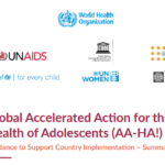 Global accelerated action for the health of adolescents (‎AA-HA!)‎: guidance to support country implementation: summary