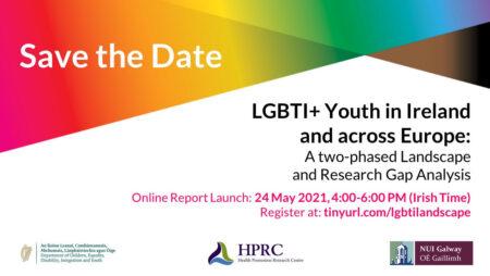 24 мая: онлайн-запуск отчета об исследовании здоровья и благополучия ЛГБТИ+ молодежи в Ирландии и Европе